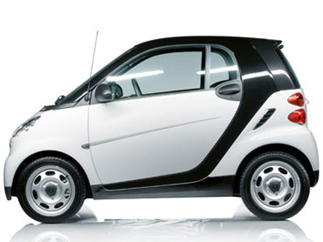 The top cars ever mercedes smart fortwo for Smart mercedes benz