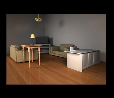 Living Room 2007
