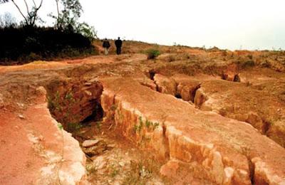 Elos entre os processos de degradação do solo, as