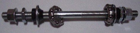 eje de rueda de tornillo