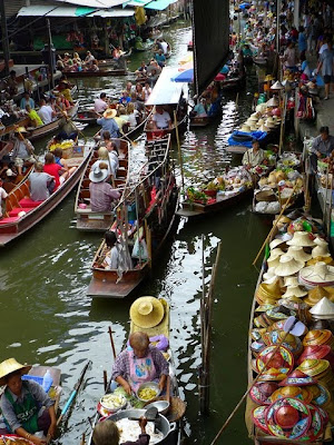 The Damnoen Saduak Floating Market, Ratchaburi