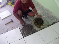 Kerja-Kerja Baikpulih di Taman Usaha Jaya Kepong