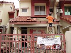 Kerja-Kerja Renovation di Taman Pinggiran USJ, Shah Alam Selangor
