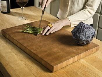 peppermags diy butcher block cutting board