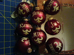 2008 Christmas ornaments