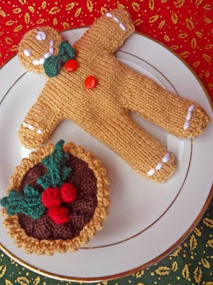 Free Knitting Pattern For Gingerbread Man Very Simple Free