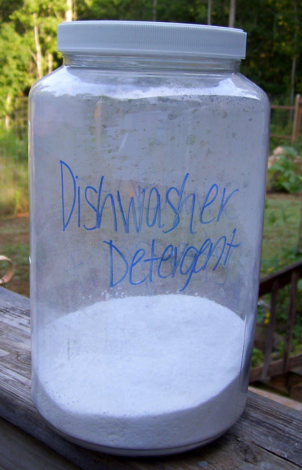 Flitterbugs The Blog Homemade Dishwasher Detergent