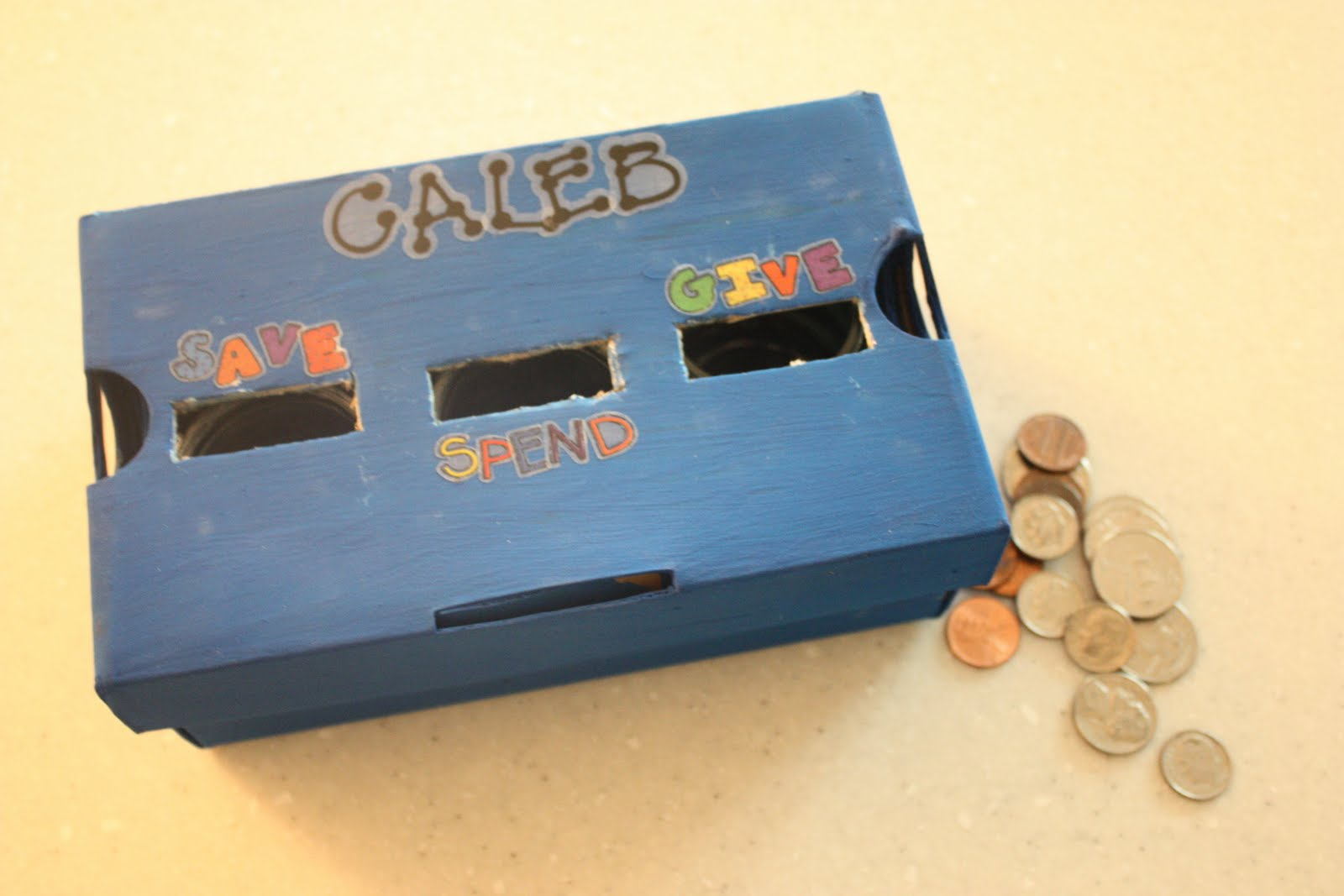 Make it save spend give bank i can teach my child for Cool things to make out of a shoe box