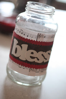blessing jars