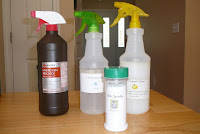 Homemade Green Cleaners made easy