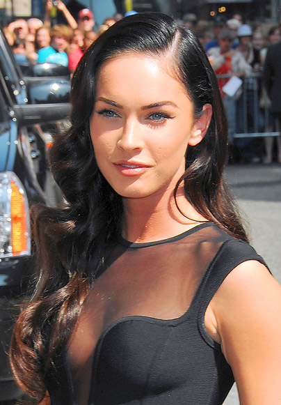 megan fox hairstyles. megan fox hairstyles 2010.