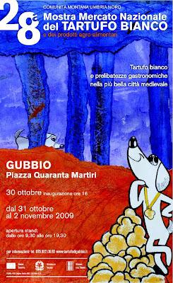 Mostra mercato del tartufo bianco e dei prodotti agroalimentari di Gubbio