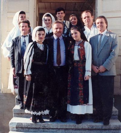 1995 - Cu prieteni hunedoreni.