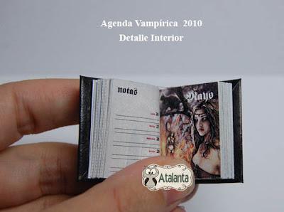 Agenda libro miniatura - miniature book