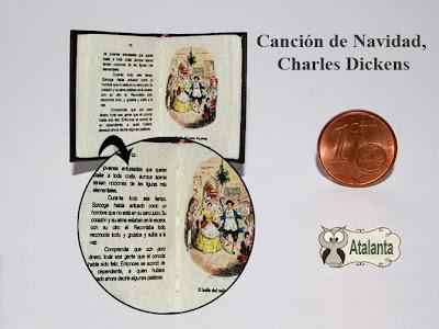 minilibro Canción de Navidad. Dickens