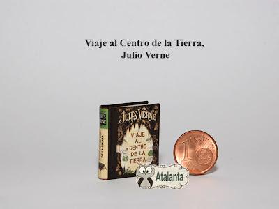 Viaje al Centro de la Tierra minibook Verne