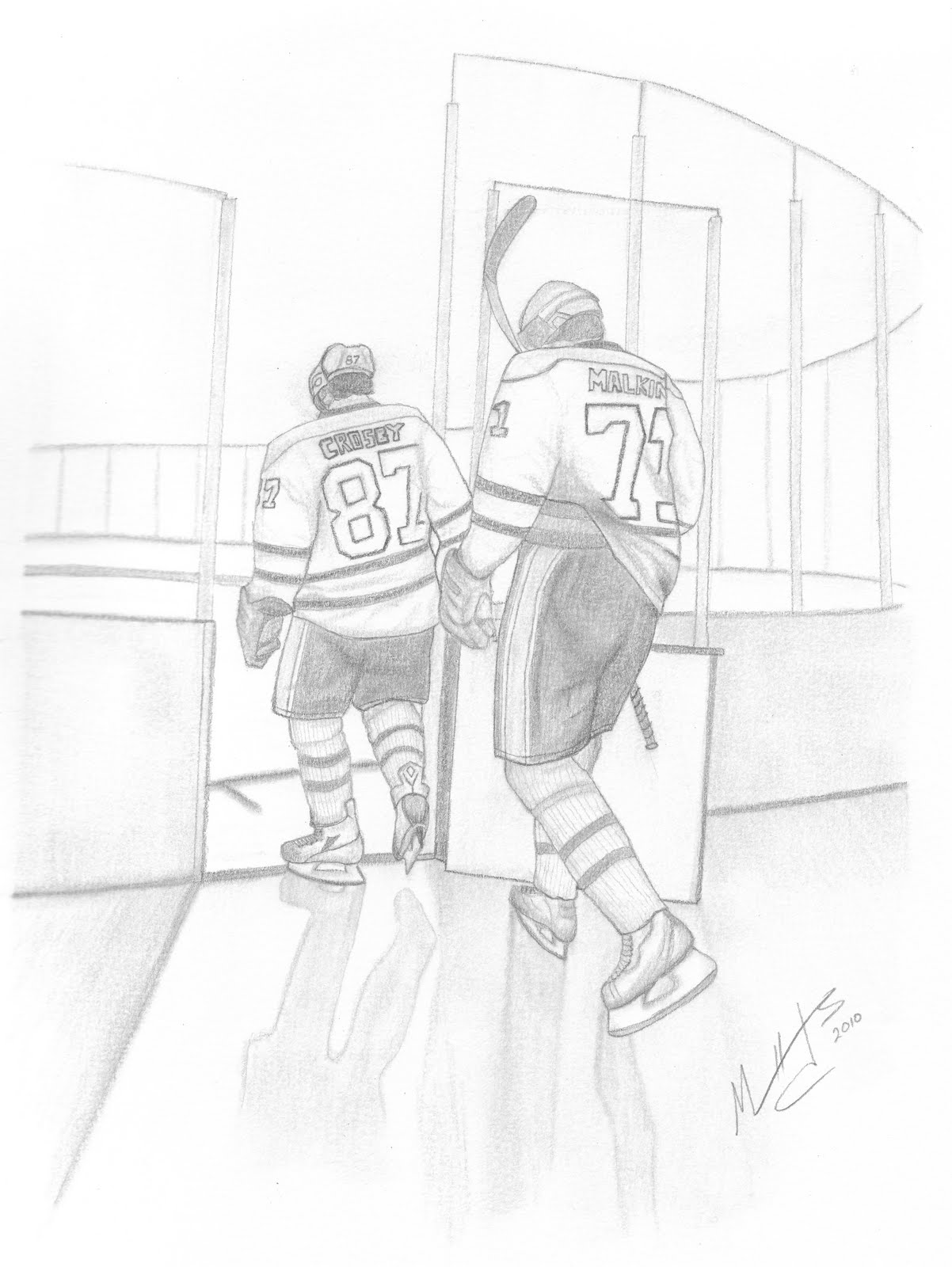 Pin sidney crosby drawing on pinterest for Sidney crosby coloring pages
