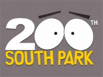South Park 200th episode logo.