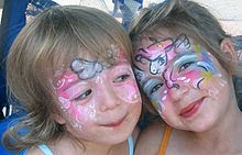Face painting picture