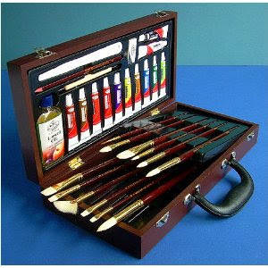Royal Brush Oil Color Brush Kit
