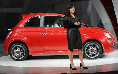 Fiat 500 USA.
