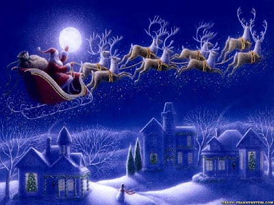 where's Santa Claus right now