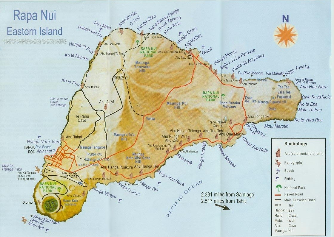 rapa nui Rapa nui national park and its stone sculptures are testimony to an isolated cultural evolution rapa nui is the indigenous name of easter island.