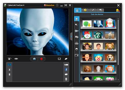 CyberLink YouCam v4.0.0913 Deluxe ML (Español), Efectos y Animaciones con tu Webcam