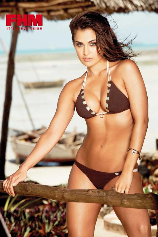 Shashi Naidoo Hot Bikini Shoot For FHM