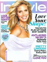Heidi Klum InStyle US February 2010