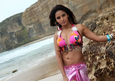 Neetu Chandra Bikini Pics in Theeratha Vilayaattu Pillai