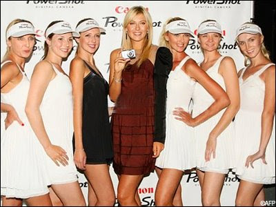 hot Russian diva Maria Sharapova