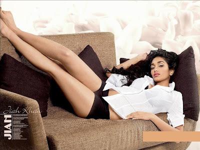 Jiah Khan Looking Hot & Sexy In Sedactive Photoshoot