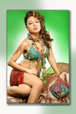 Hot Indian Model Sarmi Karati Seductive Photoshoot