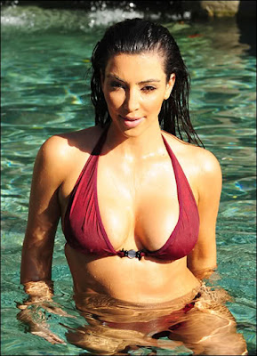 Kim kardashian Latest Hot & Sexy Bikini Photoshoot