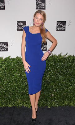 Blake Lively –hot at Saks Fifth Avenue Launch Celebration