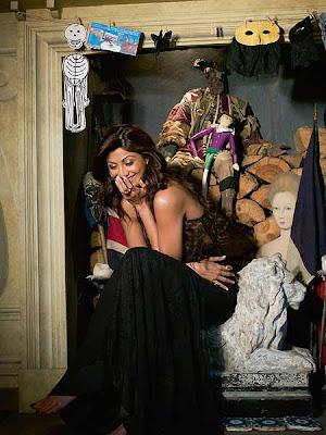 Shilpa Shetty Hot Photoshoot For OCT Harper's Bazaar