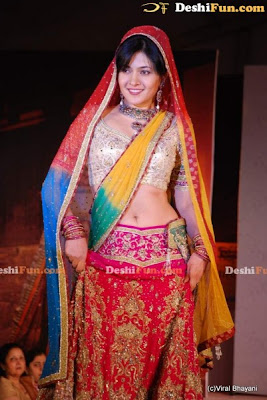 Sonal Sehgal On the Ramp at the Luxurion Show