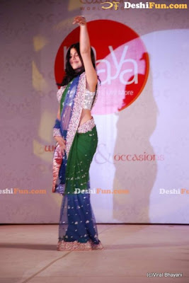 Shehnaz Treasurywala On the Ramp at the Luxurion Show