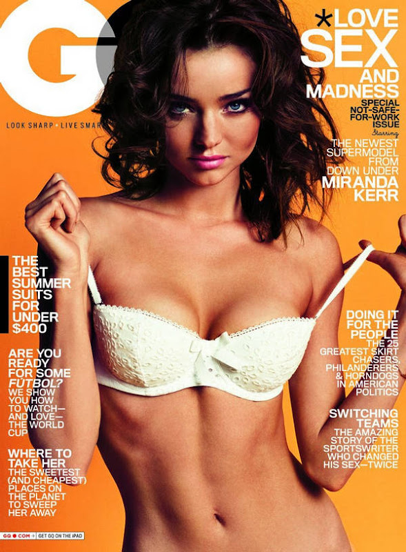 Miranda Kerr Hot GQ US June 2010 Photos