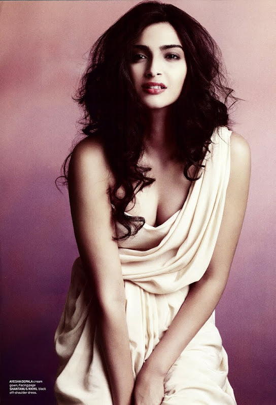 Sonam Kapoor Photoshoot for Maxim India