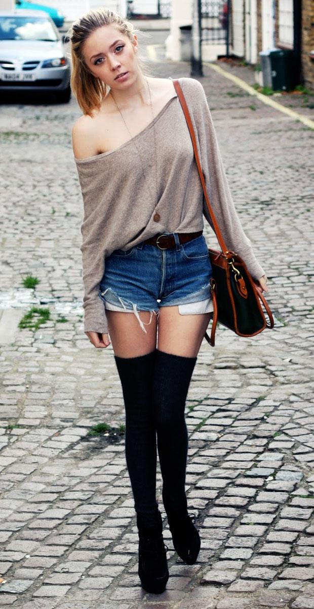 фото колготки шортами на женщинах