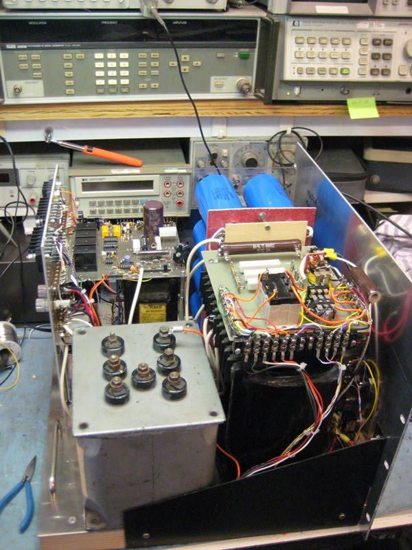 K6jca  Am Transmitter  813 Style  Part 3  Everything Else