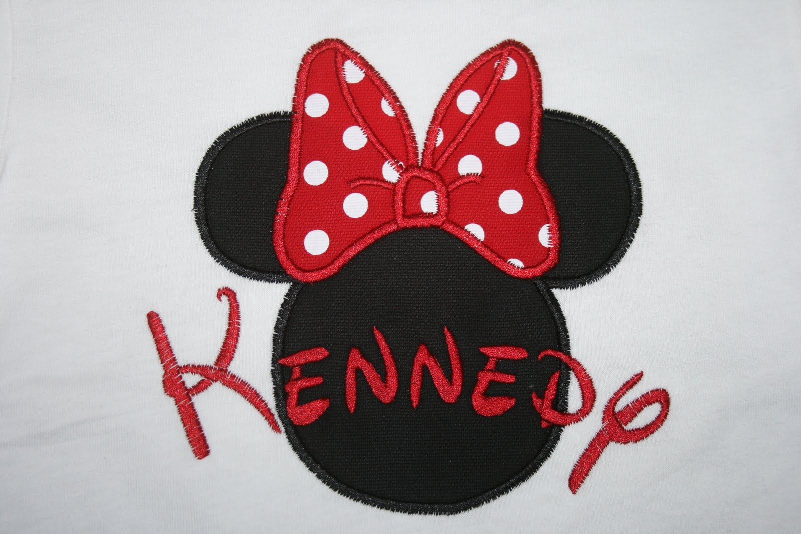 SewForum.com • View topic - Mickey Mouse applique