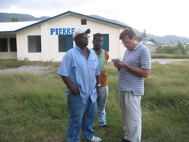 Mayko Michael au village Pierre Toussaint à Blue Hill, Cap-Haitien