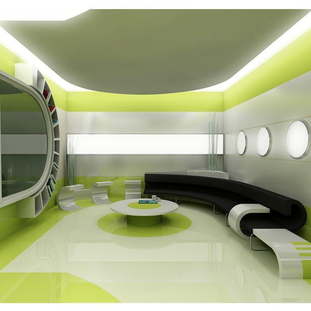 Jetsons home design.