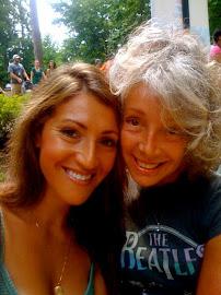 Valerie and daughter Laine Ashker