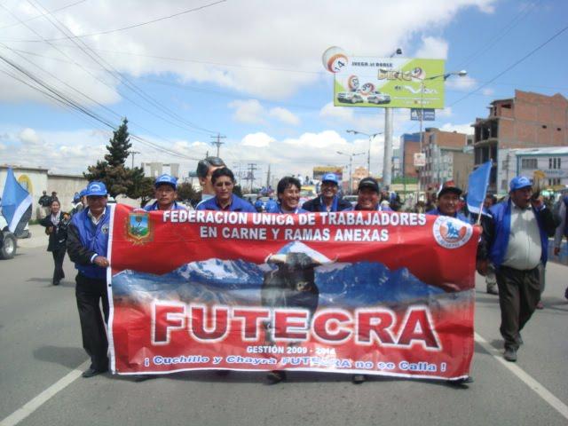 Futecra: Federación Única de Trabajadores en Carne y Ramas Anexas (El Alto) - Vivir en El Alto