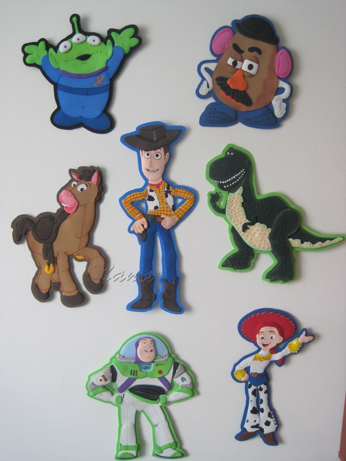 Apliques De Toy Story