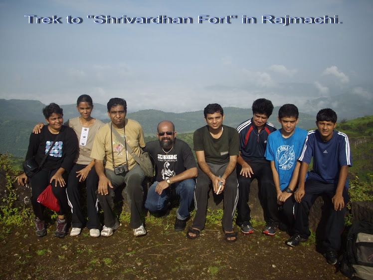 9 Member trekking group to Rajmachi.